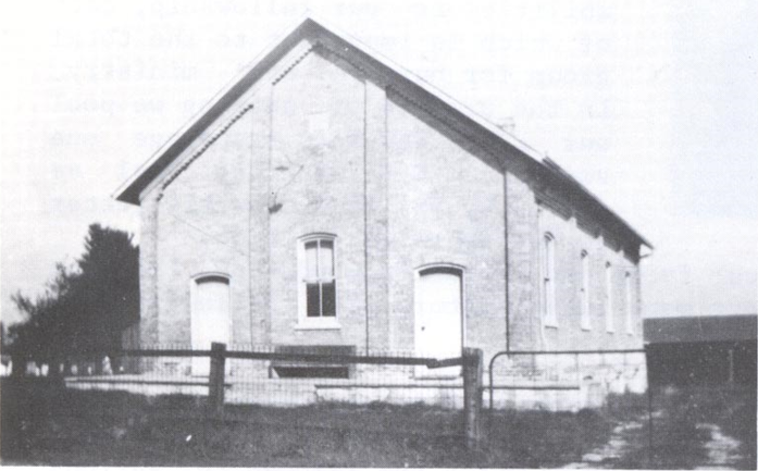 The weber church as originally designed